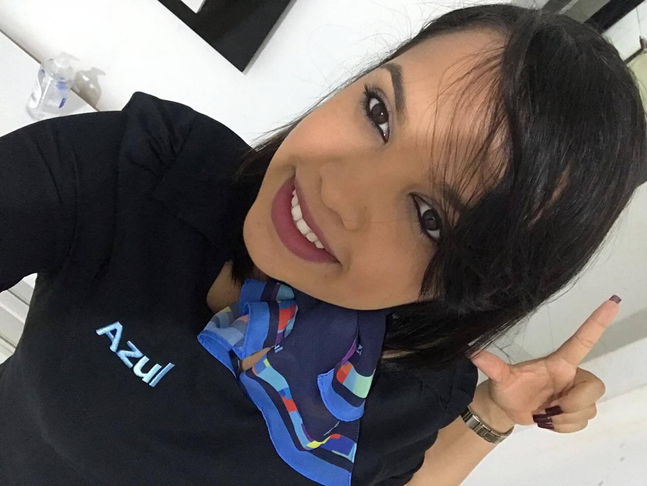A agente de aeroporto da empresa Azul Linhas Aéreas em Salvador, Juliete dos Santos, é delegada sindical eleita pelo Sindicato Nacional dos Aeroviários e exemplo de que as mulheres vêem se destacando no movimento sindical.