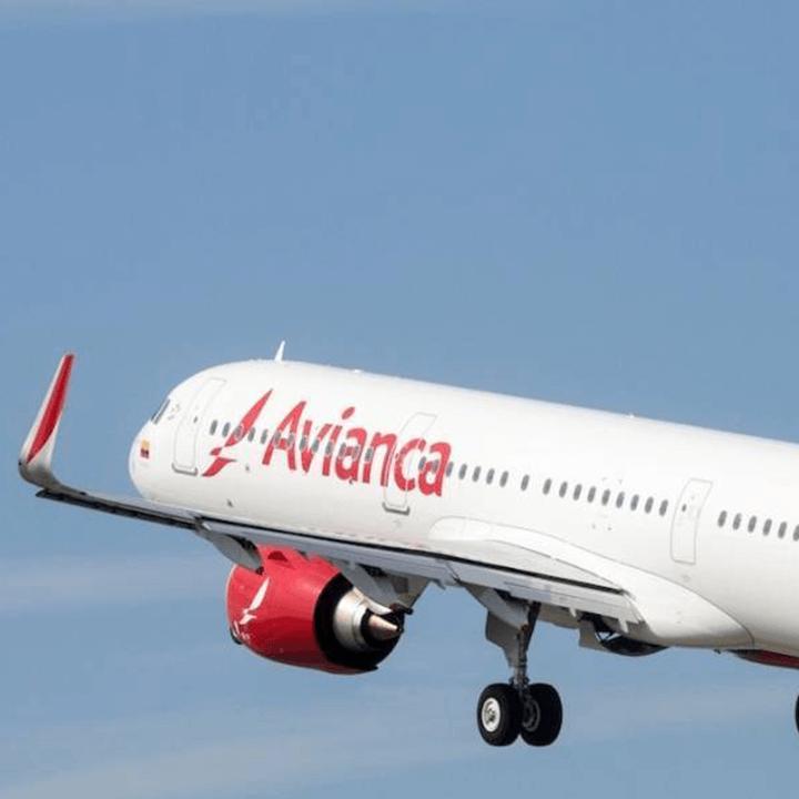 Avião da Avianca. Empresa se encontra em recuperação judicial.
